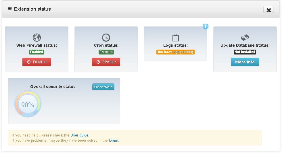 cpanel_extension_status2.PNG